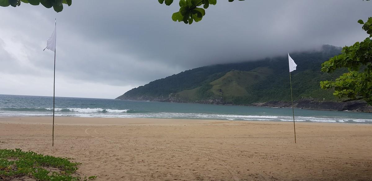 Praia na trilha de Sepituba a Bonete
